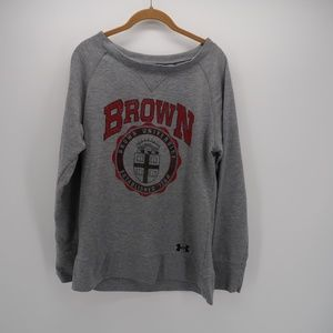 Under Armour Brown university Pullover Sweater